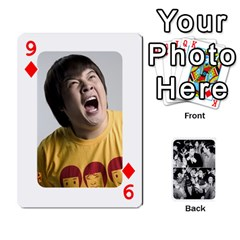 Suju Playing Cards By Mia Story   Playing Cards 54 Designs   Yap4e21nkrir   Www Artscow Com Front - Diamond9