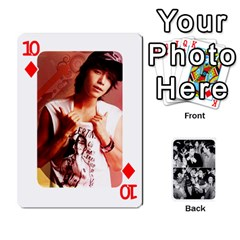 Suju Playing Cards By Mia Story   Playing Cards 54 Designs   Yap4e21nkrir   Www Artscow Com Front - Diamond10