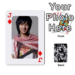 Jack Suju Playing Cards By Mia Story   Playing Cards 54 Designs   Yap4e21nkrir   Www Artscow Com Front - DiamondJ