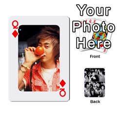 Queen Suju Playing Cards By Mia Story   Playing Cards 54 Designs   Yap4e21nkrir   Www Artscow Com Front - DiamondQ