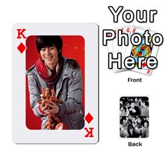 King Suju Playing Cards By Mia Story   Playing Cards 54 Designs   Yap4e21nkrir   Www Artscow Com Front - DiamondK