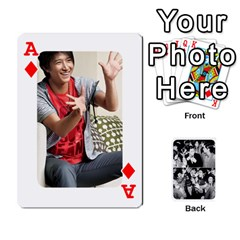 Ace Suju Playing Cards By Mia Story   Playing Cards 54 Designs   Yap4e21nkrir   Www Artscow Com Front - DiamondA