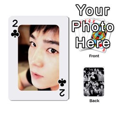 Suju Playing Cards By Mia Story   Playing Cards 54 Designs   Yap4e21nkrir   Www Artscow Com Front - Club2