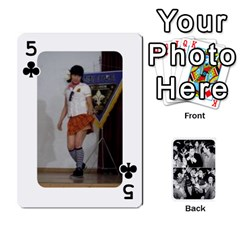 Suju Playing Cards By Mia Story   Playing Cards 54 Designs   Yap4e21nkrir   Www Artscow Com Front - Club5