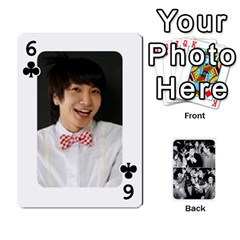 Suju Playing Cards By Mia Story   Playing Cards 54 Designs   Yap4e21nkrir   Www Artscow Com Front - Club6