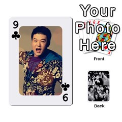 Suju Playing Cards By Mia Story   Playing Cards 54 Designs   Yap4e21nkrir   Www Artscow Com Front - Club9