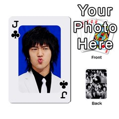 Jack Suju Playing Cards By Mia Story   Playing Cards 54 Designs   Yap4e21nkrir   Www Artscow Com Front - ClubJ