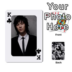 King Suju Playing Cards By Mia Story   Playing Cards 54 Designs   Yap4e21nkrir   Www Artscow Com Front - ClubK