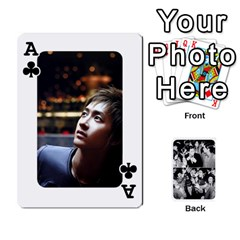 Ace Suju Playing Cards By Mia Story   Playing Cards 54 Designs   Yap4e21nkrir   Www Artscow Com Front - ClubA