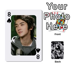 Suju Playing Cards By Mia Story   Playing Cards 54 Designs   Yap4e21nkrir   Www Artscow Com Front - Spade8