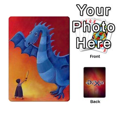 Dixit 1 By Jorge   Playing Cards 54 Designs   4utyqa7z4l2p   Www Artscow Com Front - Diamond8