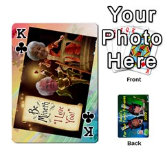King Becki s Jibjab Cards #1 By R K  Felton   Playing Cards 54 Designs   Y0azymgxypzr   Www Artscow Com Front - ClubK