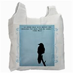 Grackle recycle bag - Recycle Bag (One Side)