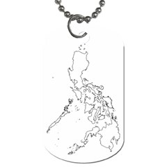 Philippine Map   Dog Tag By Wlenz Photo   Dog Tag (two Sides)   Ohtrsnamvr6h   Www Artscow Com Front