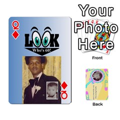 Queen Larry Playing Cards By Lynne Lee   Playing Cards 54 Designs   Fro25irqic5b   Www Artscow Com Front - DiamondQ