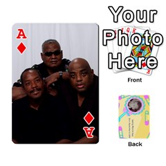 Ace Larry Playing Cards By Lynne Lee   Playing Cards 54 Designs   Fro25irqic5b   Www Artscow Com Front - DiamondA