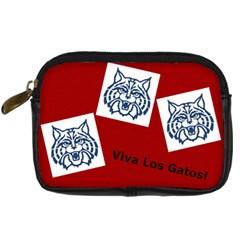 Wildcat Camera Bag By Anne Frey   Digital Camera Leather Case   8eh7qacmw5gb   Www Artscow Com Front