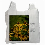 Wildflower recycle bag - Recycle Bag (One Side)