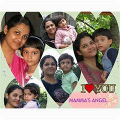 Family Moments By Sutapa   Collage 8  X 10    T2tqlytk5qxz   Www Artscow Com 10 x8 Print - 3
