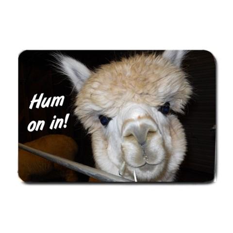 Alpaca Door Mat  Mom By Jennie Conkle   Small Doormat   Lzkyws087uwr   Www Artscow Com 24 x16 Door Mat - 1