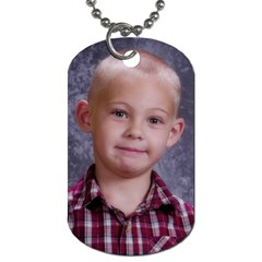 Grandpa Tag By Andrea Winbigler   Dog Tag (two Sides)   B761g6nkmxns   Www Artscow Com Front