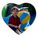 Christian at Busch Gardens - Ornament (Heart)