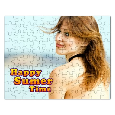 Summer Gift By Wood Johnson   Jigsaw Puzzle (rectangular)   Iars4nviq7v9   Www Artscow Com Front