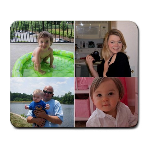 Family By Lori Haynes   Collage Mousepad   Rxd4yfb6m6z2   Www Artscow Com 9.25 x7.75 Mousepad - 1