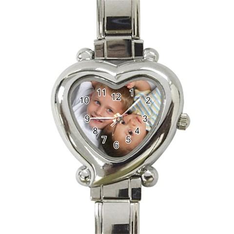 Felixmomwatch By Christine   Heart Italian Charm Watch   Hhxo7fokcuqy   Www Artscow Com Front
