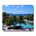 Honeymoon in St. Lucia - Large Mousepad