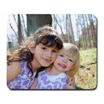 Mousepad of my girls - Large Mousepad