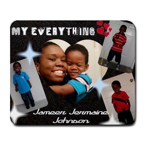 Jameer By Denise   Collage Mousepad   C5ee83a4yqlz   Www Artscow Com 9.25 x7.75 Mousepad - 1