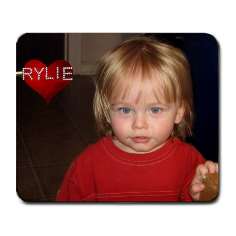 Rylie Mousepad W/name By Tracy Maloney   Large Mousepad   Mngh9z2bzxra   Www Artscow Com Front