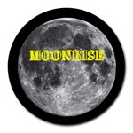 MoonriseMoon - Round Mousepad