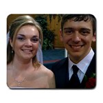 Cody and Sarah: Wedding Day - Large Mousepad