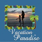 Vacation in Paradise - ScrapBook Page 8  x 8
