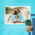Beach Girls - ScrapBook Page 8  x 8