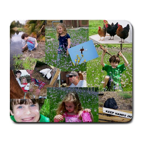 Country Mouse Pad By Melissa Fraley   Collage Mousepad   Mykfyyhao0sb   Www Artscow Com 9.25 x7.75 Mousepad - 1