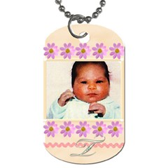Moms Tags By Tiffany   Dog Tag (two Sides)   Pgv6yyqswni0   Www Artscow Com Front