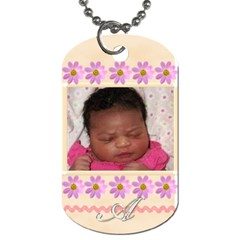 Moms Tags By Tiffany   Dog Tag (two Sides)   Pgv6yyqswni0   Www Artscow Com Back