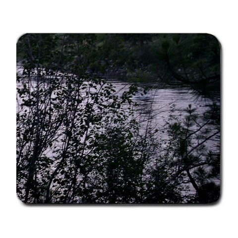 Spokane River By Becky Hunter   Large Mousepad   2jtq1j2gfops   Www Artscow Com Front