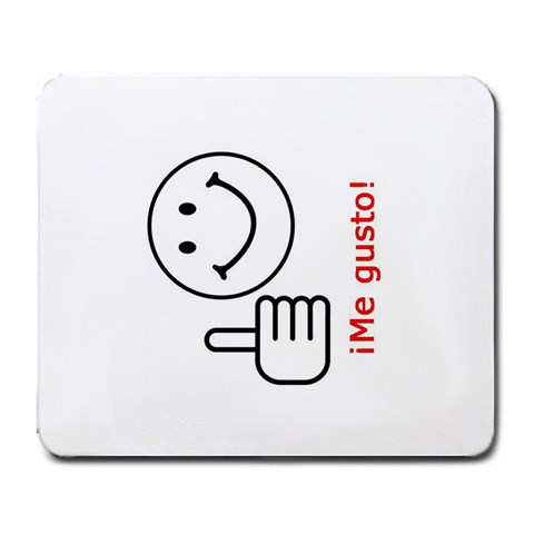 Me Gusto! By Jonathan Baltzly   Large Mousepad   Wjsneatbhoxj   Www Artscow Com Front