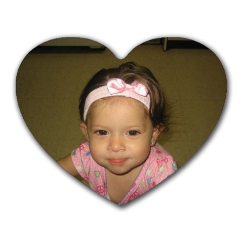 Audrina s Heart By Tiffeny Newberry   Heart Mousepad   7y986782awwl   Www Artscow Com Front