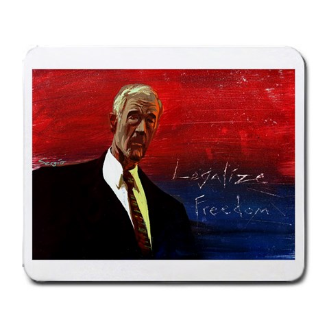 Ron Paul Legalize Freedom By Jane Smith   Large Mousepad   Vbnyl6rsx4cr   Www Artscow Com Front