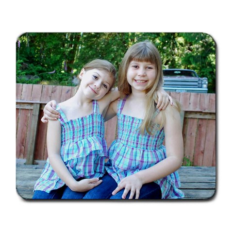 My Beautiful Girls Mousepad By Emilee   Large Mousepad   K234vhqu1w8u   Www Artscow Com Front