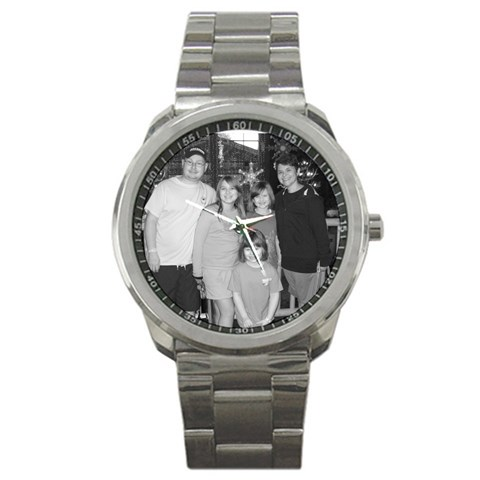 Watch By Kendra Smith   Sport Metal Watch   29827jcq3beg   Www Artscow Com Front