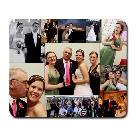 Mom s Collage Mousepad By Marji   Collage Mousepad   110117   Www Artscow Com 9.25 x7.75 Mousepad - 1