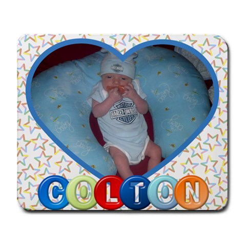 Colton Noah By Jennifer Mathes   Collage Mousepad   0xvb3ox6nswd   Www Artscow Com 9.25 x7.75 Mousepad - 1