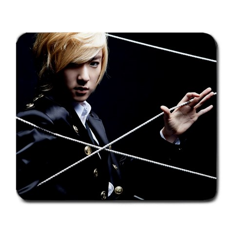 Ukiss Kevin String By M Chyan   Large Mousepad   9dv2518evwmo   Www Artscow Com Front