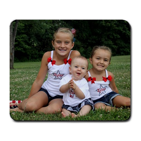 Little Firecrackers Mousepad By Mindy   Large Mousepad   Vy5fqow4y1y3   Www Artscow Com Front